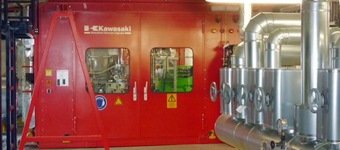 Kawasaki Gas Turbine Career